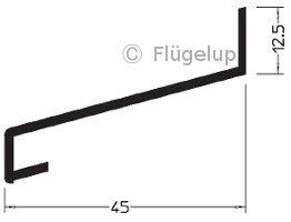 Super Alu-Z-Profile für Holzfenster zum nachrüsten SW34