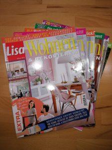 Ausgaben von Lisa - wohnen und dekorieren